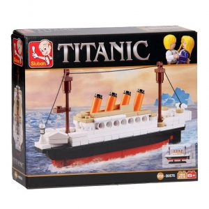 maqueta titanic sluban amazon